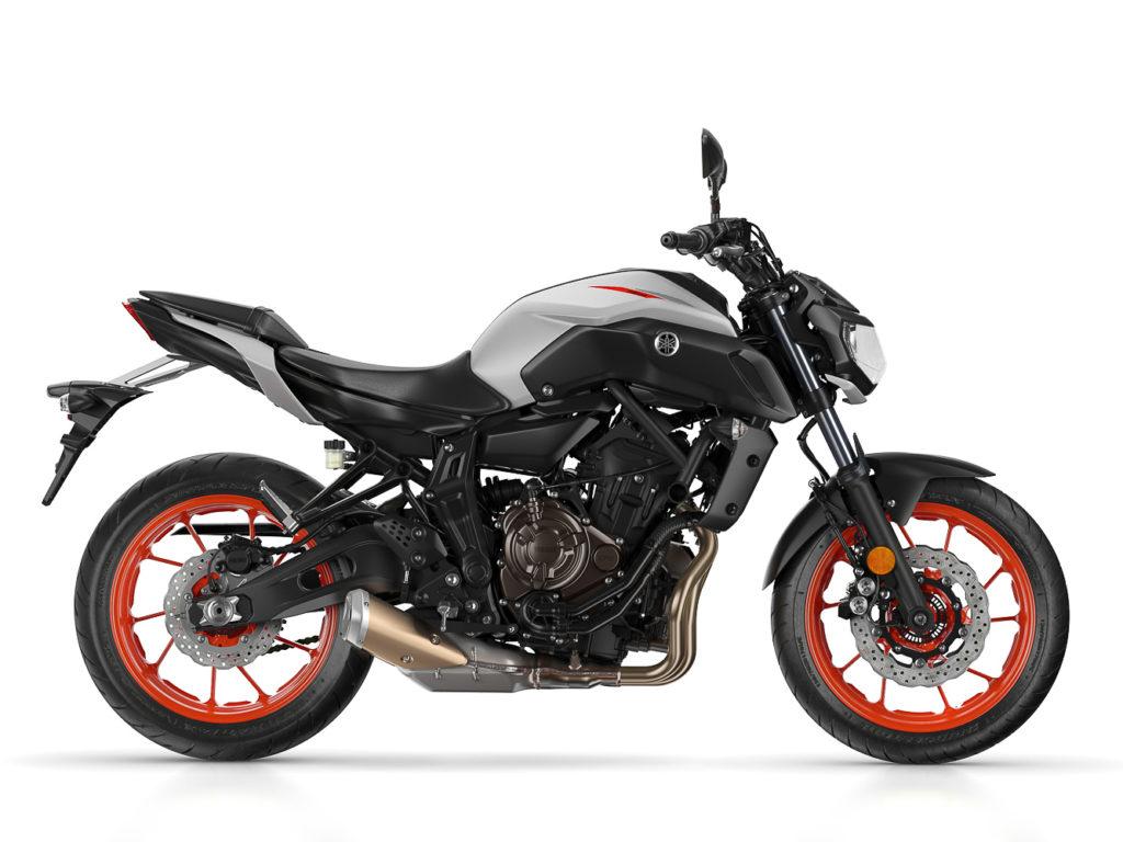 Die Yamaha MT-07 kommt mit weitem Abstand auf Platz 2 der beliebtesten Motorräder
