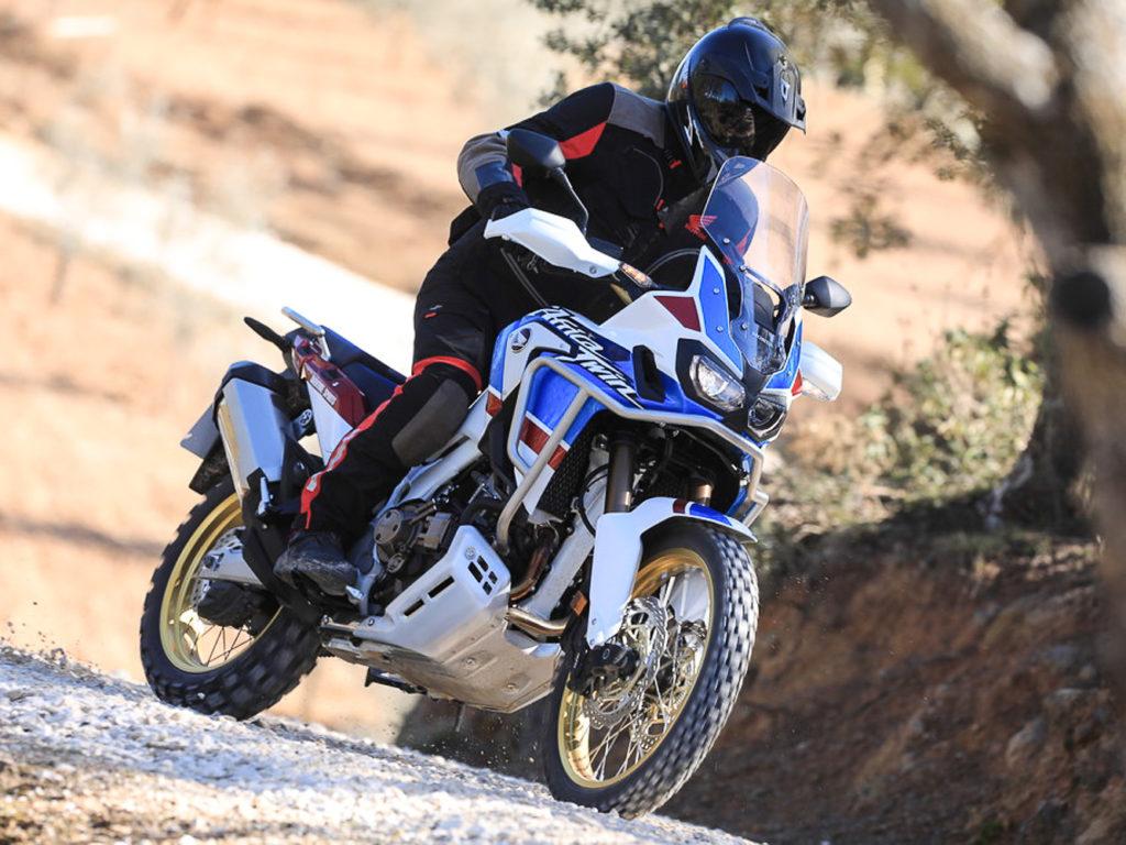 Die Honda Africa Twin komplettiert die Top 5 der beliebtesten Motorräder