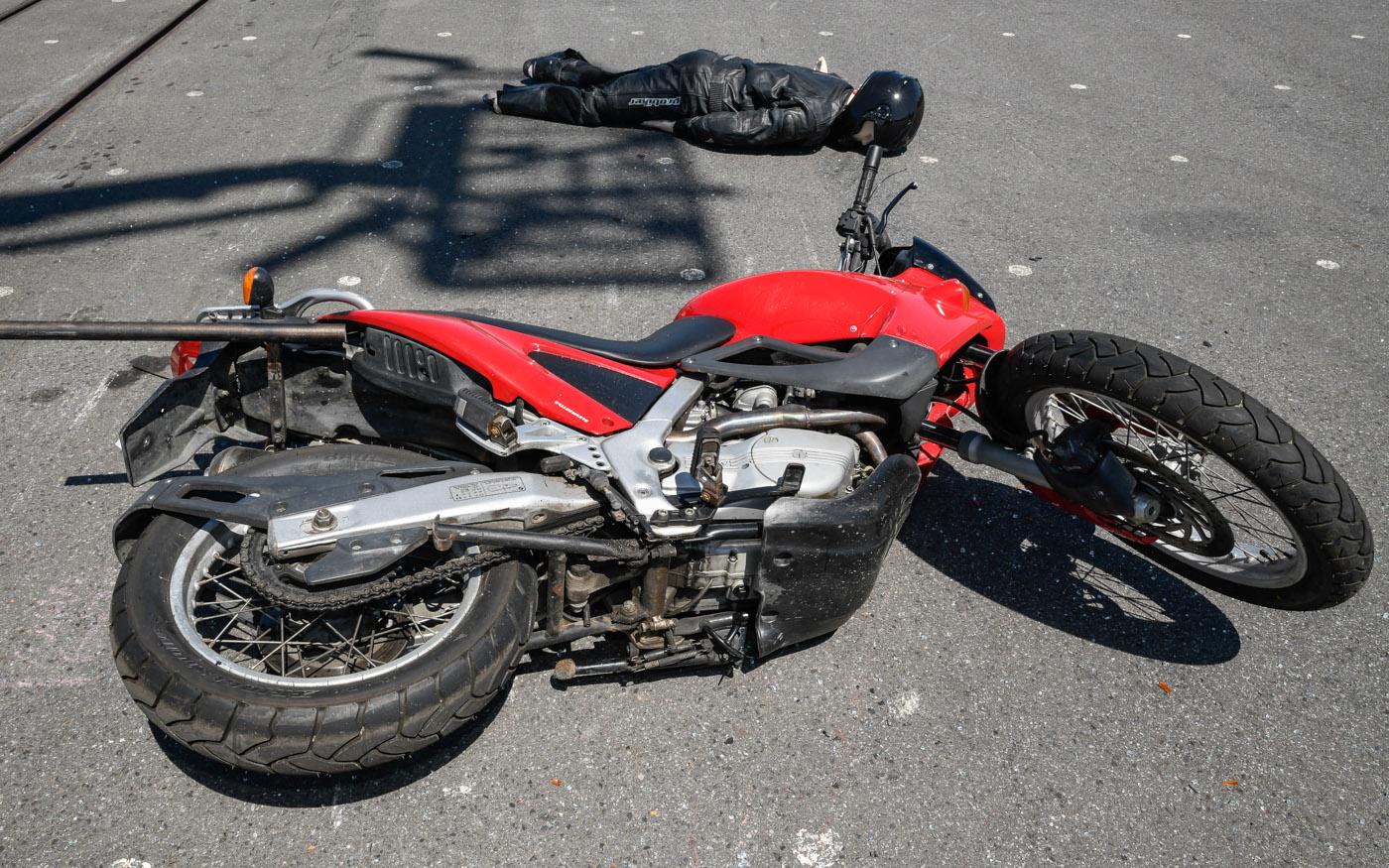 Tödliches Risiko Motorradfahren