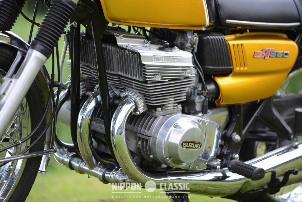 Die Lichtmaschine der Suzuki GT 550 war recht störanfällig