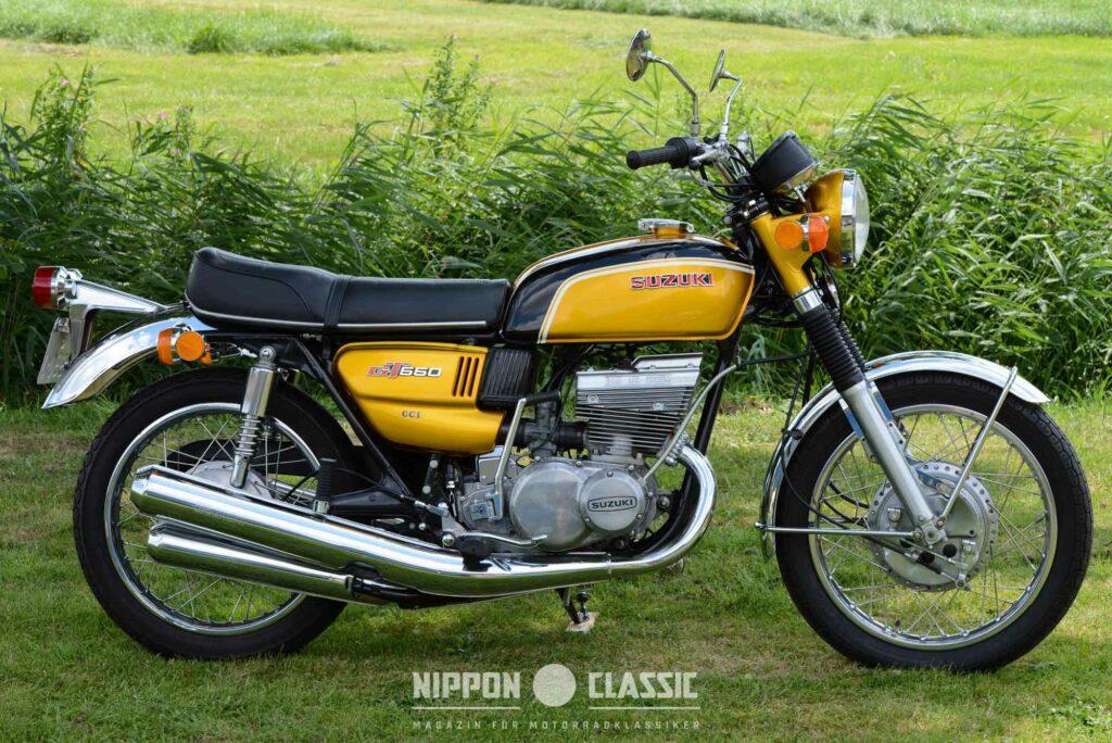 Die Suzuki GT 550 war und ist ein gefälliges Motorrad
