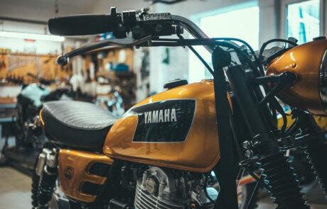Yamaha Yard Built bei Kedo