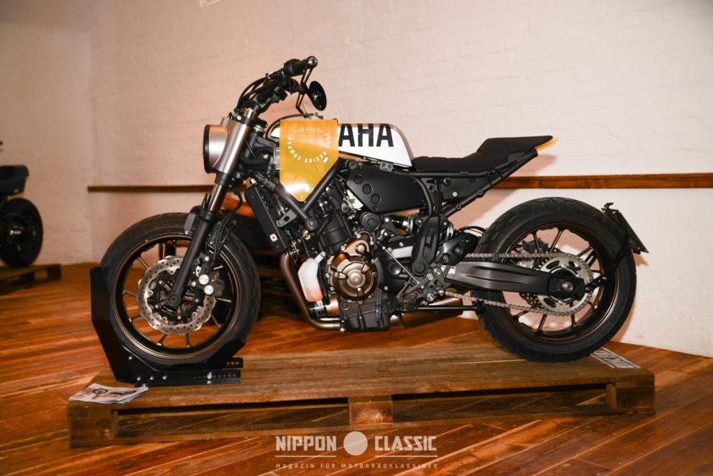 Hookie gab der XSR700 etwas Modernes, gar Futuristisches