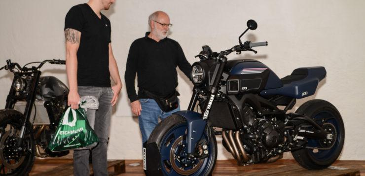 Jens vom Braucks XSR-Umbau sorgte für Gesprächsstoff