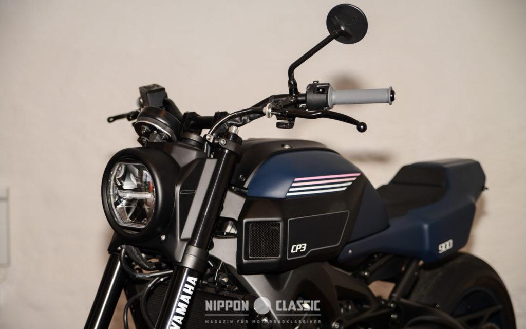 Die Yamaha XSR900 'CP3' von JvB-MOTO