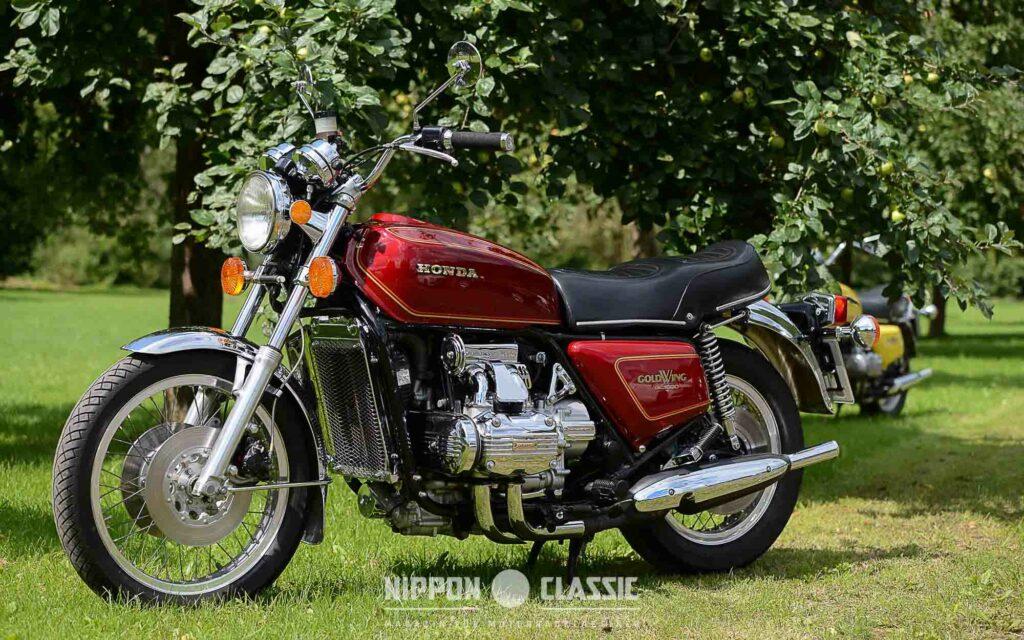 Der ersten Honda Goldwing sah man die einstige Bestimmung noch an