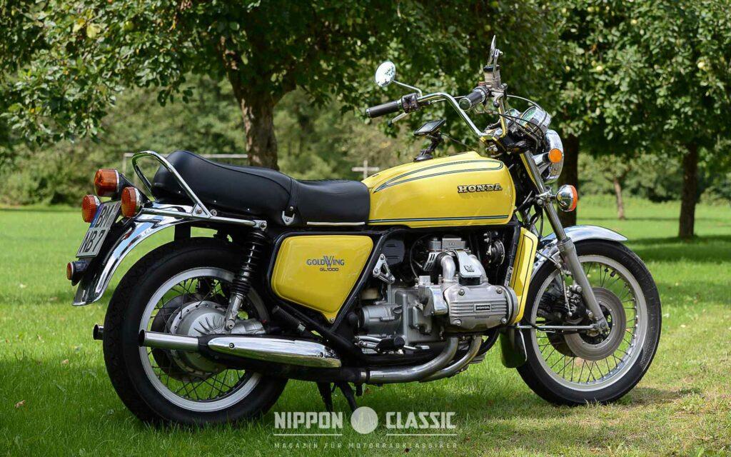 Die erste Goldwing: Honda GL 1000 von 1976