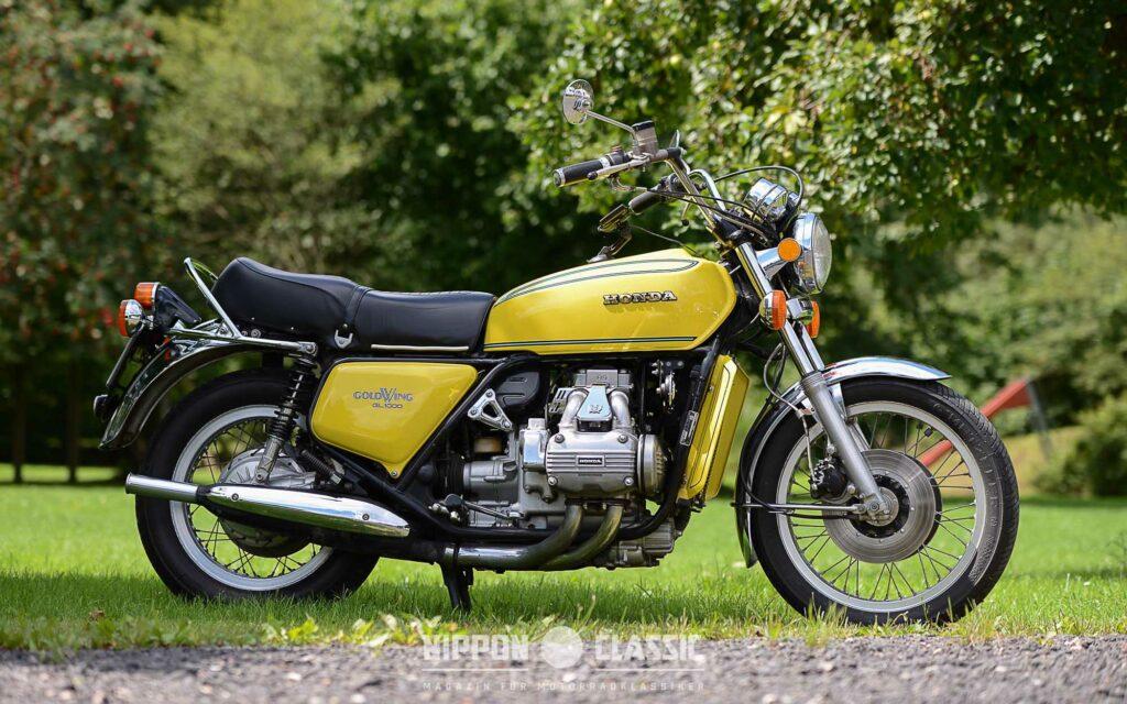 Eigentlich sollte die GL 1000 der Kawasaki Z1 900 Paroli bieten
