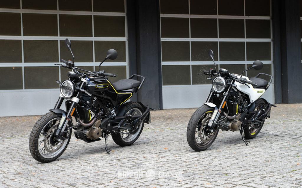 Husqvarna Svartpilen 401 und Husqvarna Vitpilen 401 teilen sich de Gene der KTM Duke 390