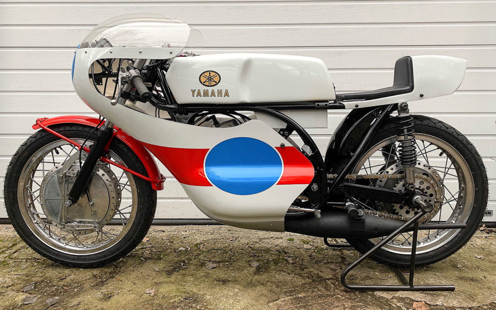 Diese Yamaha TR2 nach erfolgreicher Restaurierung