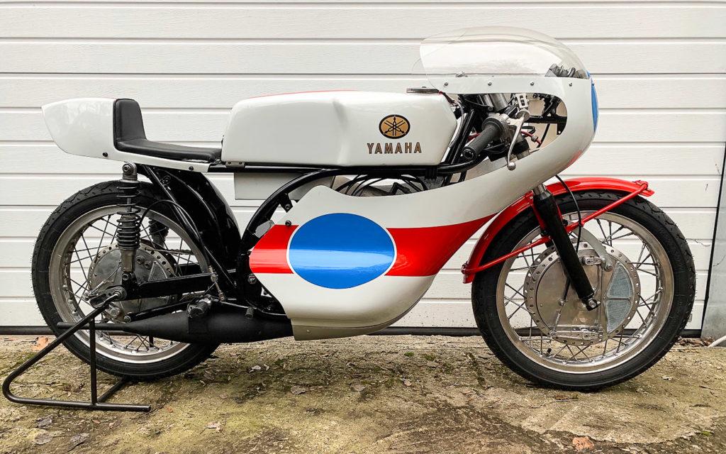 Von Ralf Rosner restaurierte Yamaha TR 2