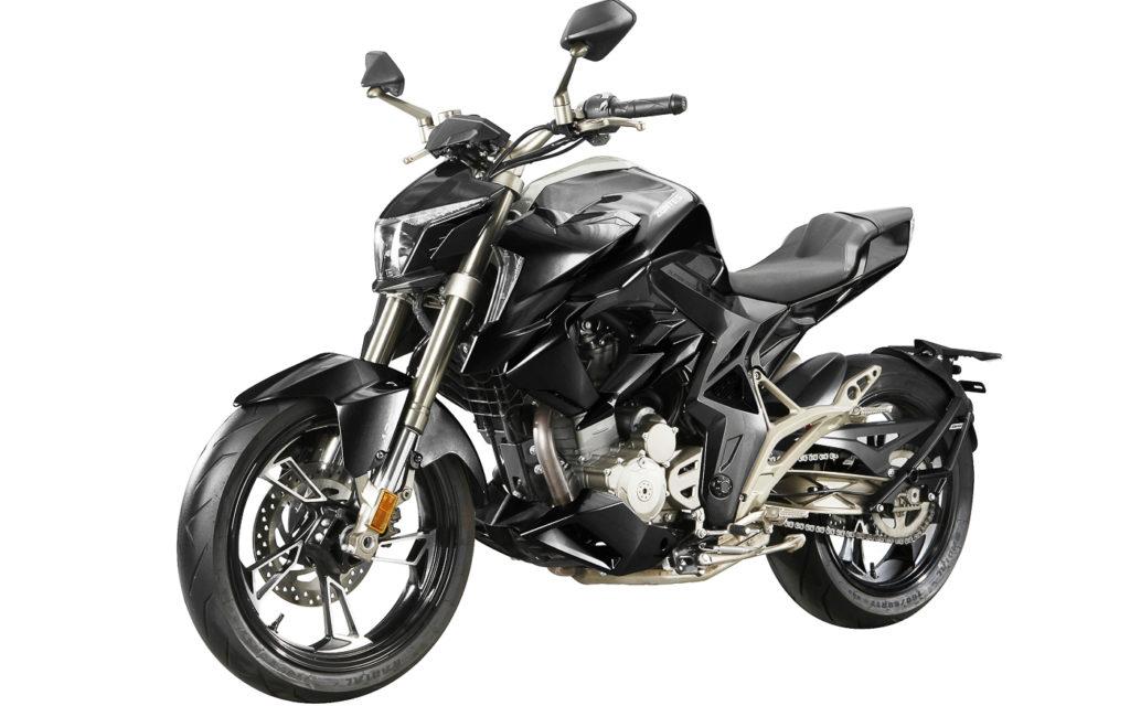 Das Naked Bike Zontes 310 R ist eine von vier Modellvarianten
