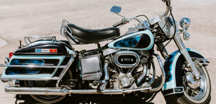 Harley-Davidson FLH 1200 Electra Glide von 1976