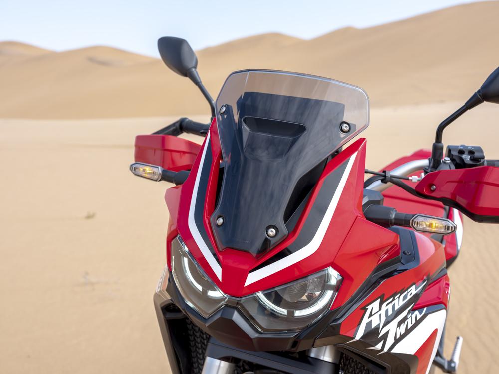 Neue Front der Honda Africa Twin 2020