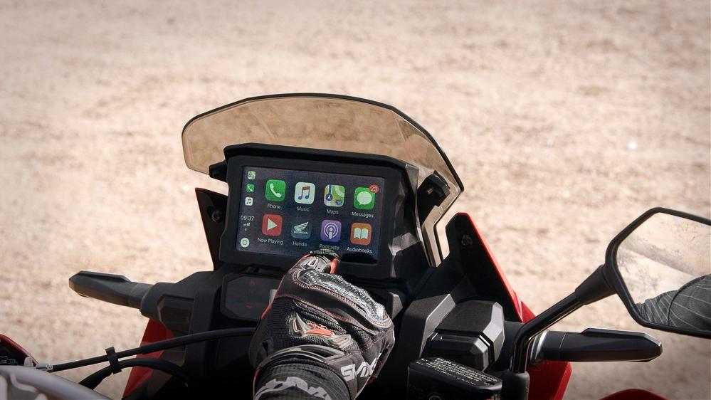Braucht man auf einer Reiseenduro Apple Car Play?
