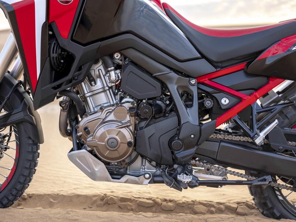 Der Motor der Honda Africa Twin 2020 wird leichter