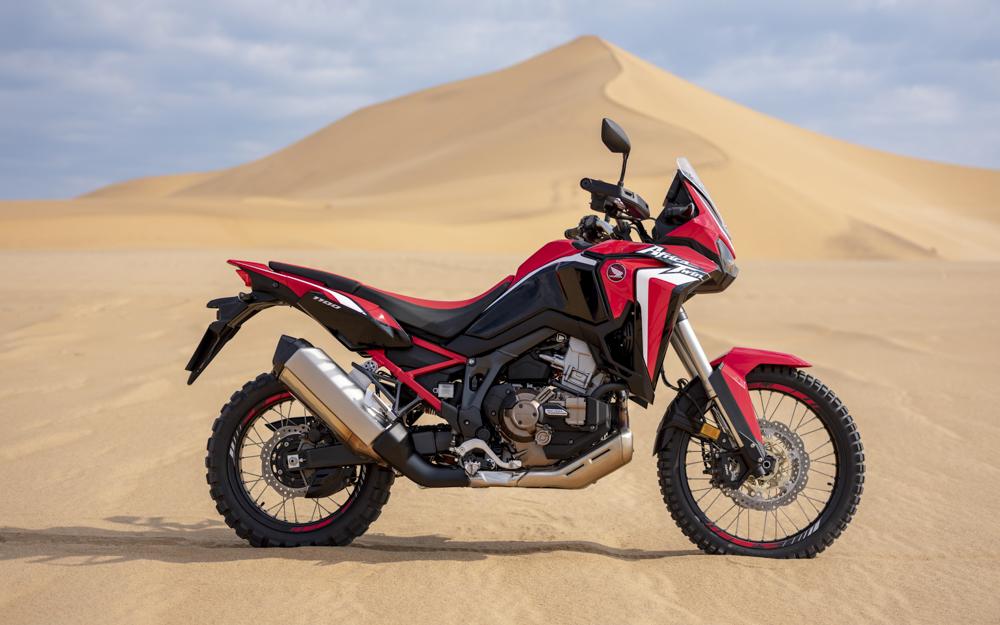 Honda hat die Africa Twin für die Motorradsaison 2020 in vielen Details überarbeitet
