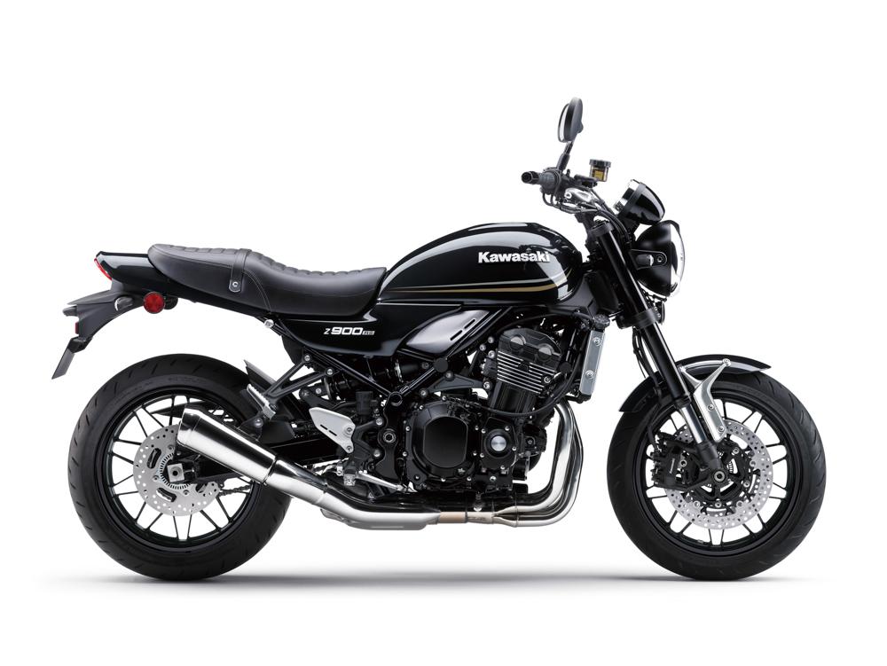 Kawasaki Z900RS in Metallic Flat Spark Black