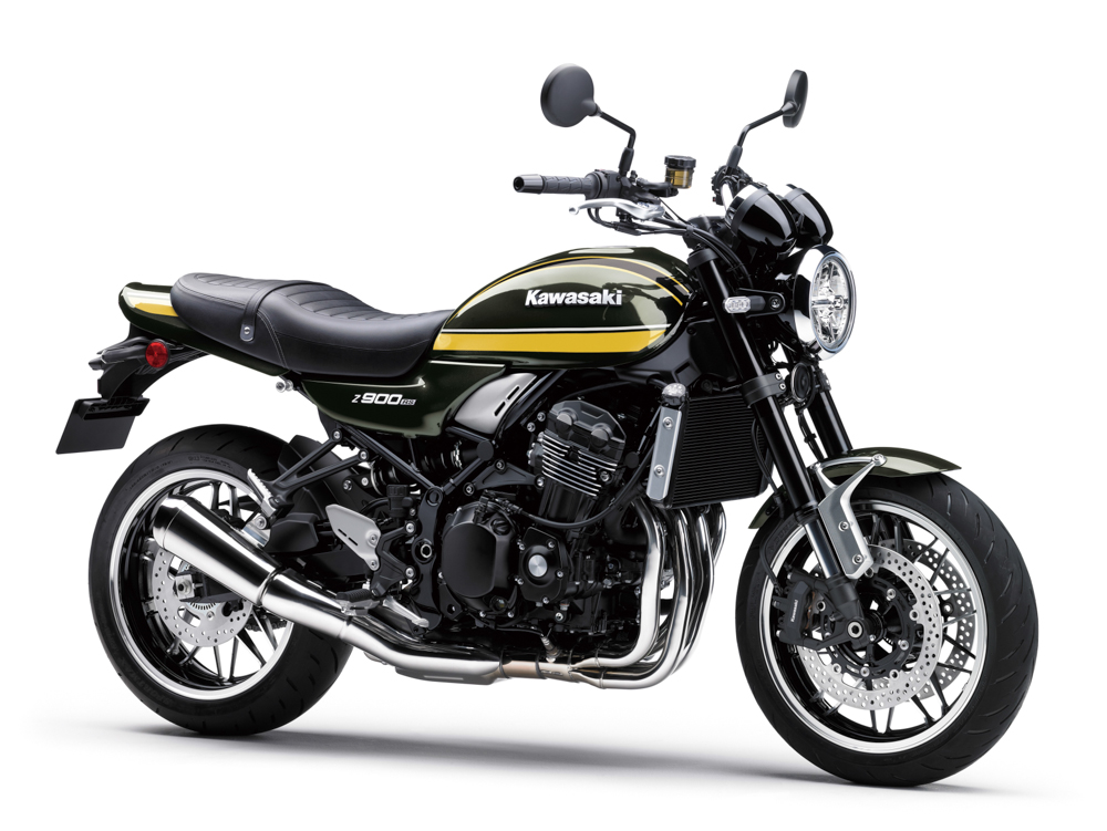 Die Z900RS in Candytone Green wird Classic-Fans begeistern