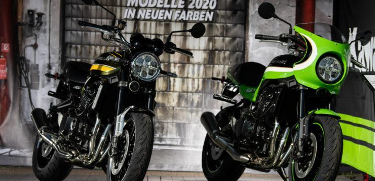 Rebrush für die Kawasaki Z900RS im Modelljahr 2020