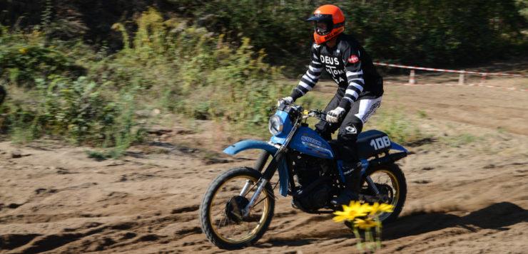 Fast zu schade für die Piste: Suzuki DR 500