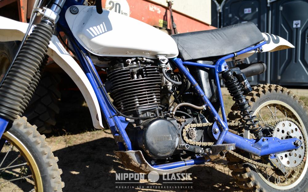 Yamaha XT500 mit seltenem HEOS-Fahrwerk