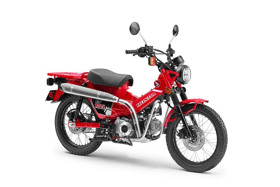 Honda CT 125 verbindet Funktionalität mit einem coolen Design