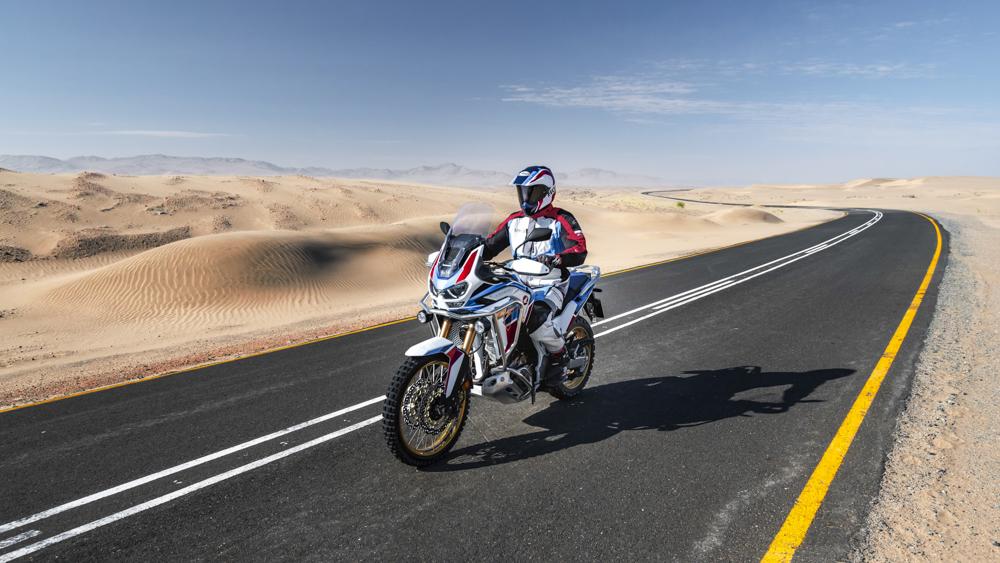 Die Honda CRF1100L Africa Twin Sports Adventure ist für Fernreisen konzipiert