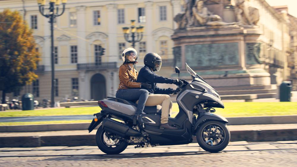 Yamaha spricht mit der Tricity 300 vor allem Pendler an