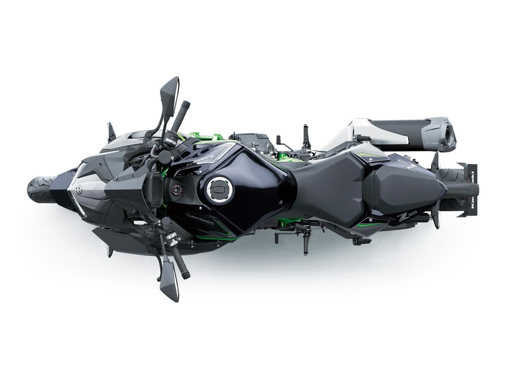 Soll die Speerspitze werden: Kawasaki Z H2