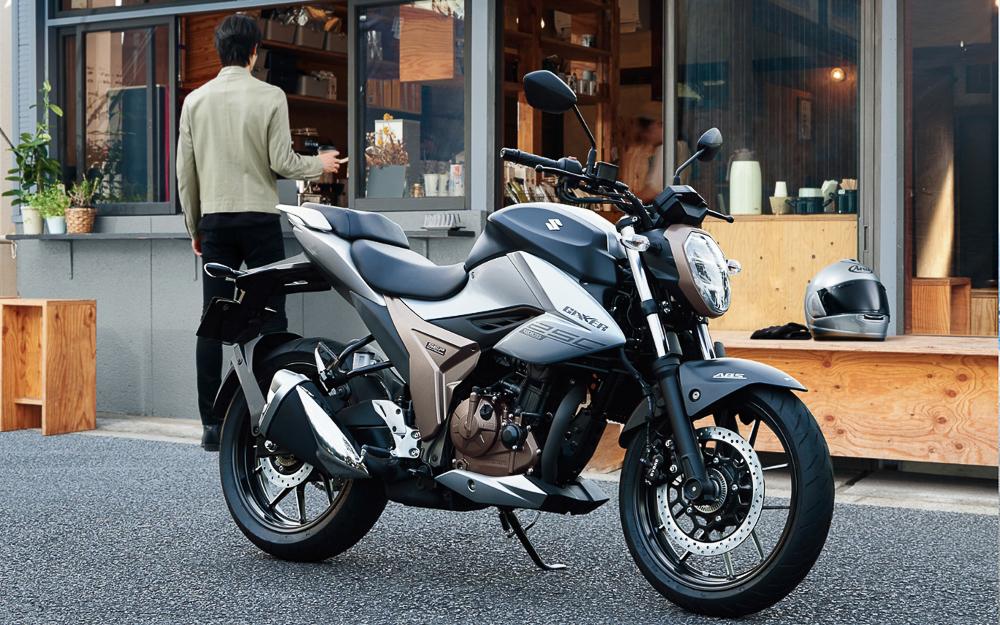 Für den asiatischen Markt bestimmt: neue Suzuki Gixxer 250