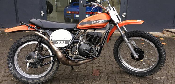 """""""Witwenmacher"""" Suzuki TM 400 R"""
