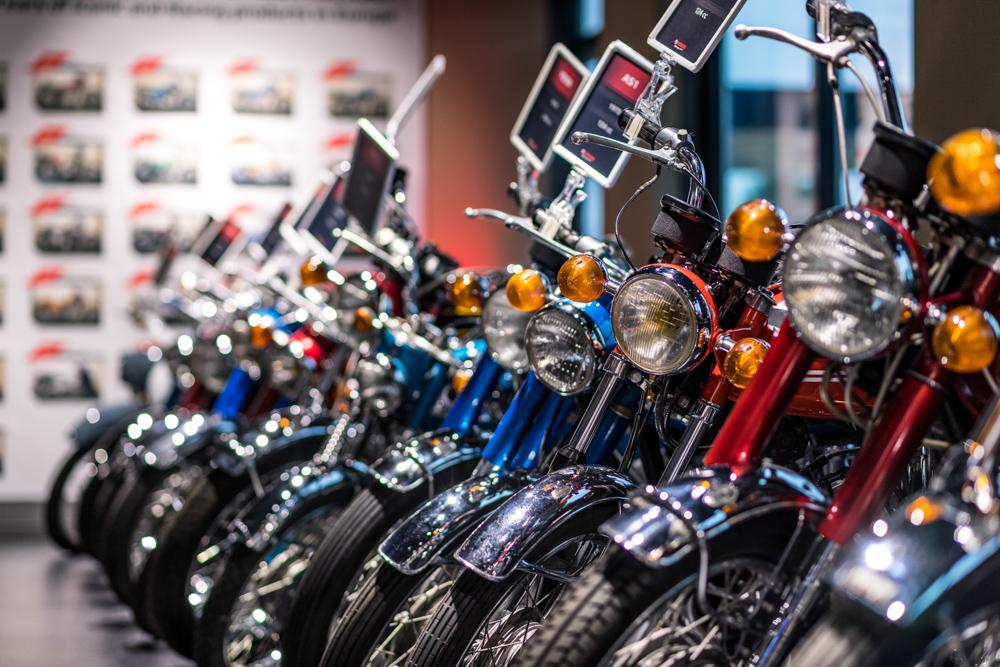 Von der Yamaha AS1 bis RD-Baureihe ist alles vertreten