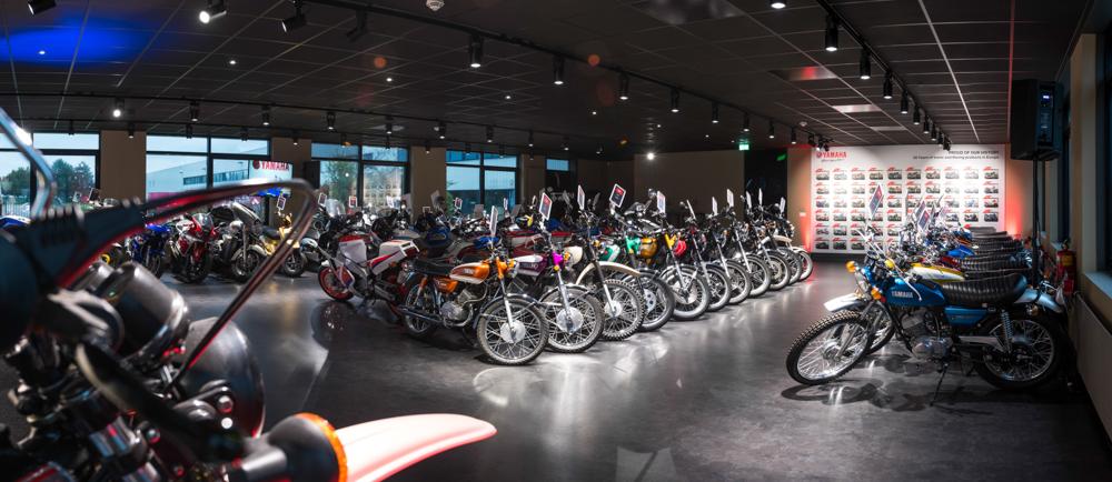 Die Yamaha Collection Hall umfasst eine imposante Fahrzeugsammlung