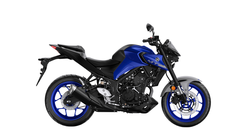 Yamaha MT-03 in Icon Blue