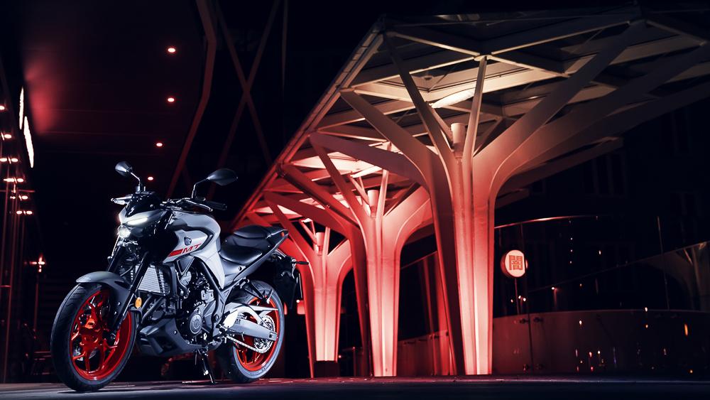 Die neue Yamaha MT-03