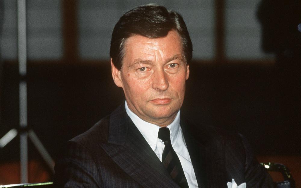 Alfred Herrhausen, Vorstandschef der Deutschen Bank