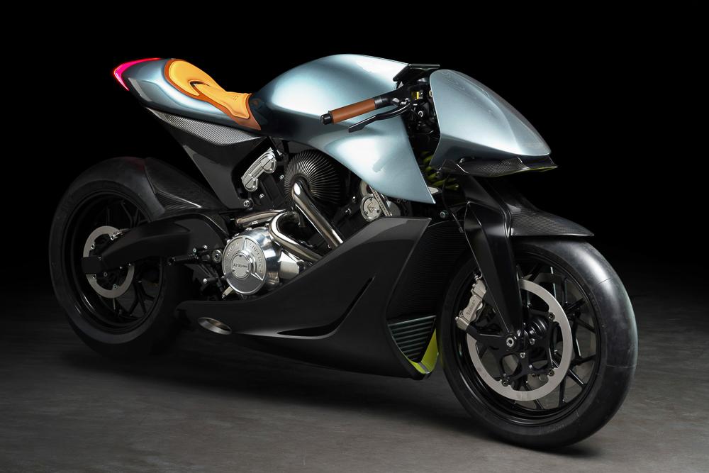 AMB 001 heißt das ab 2020 erhältliche Motorrad von Aston Martin und Brough Superior