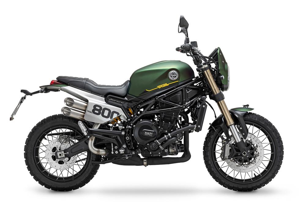 Neben der Naked-Version wird es die Benelli Leoncino 800 auch in einer Scrambler-Variante mit Namenszusatz Trail geben