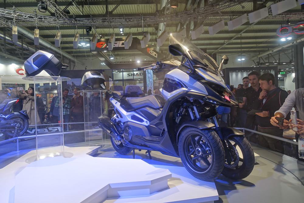 Kymco bringt den neuen CV3 im vierten Quartal 2020 in Deutschland auf den Markt