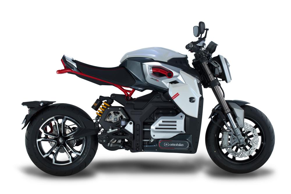 Beim Konzept MCR-S steckt der Motor zwischen Hinterrad und Batterie