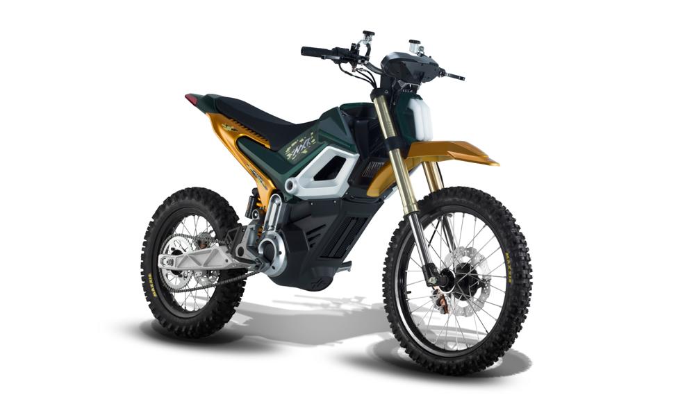 Vermutlich schon seriennah dürfte das zweite Konzept von Ottobike namens MXR sein