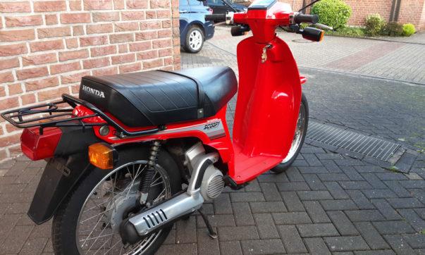 Der Honda SH 80 Scoopy wurde von 1984 - 1987 gebaut