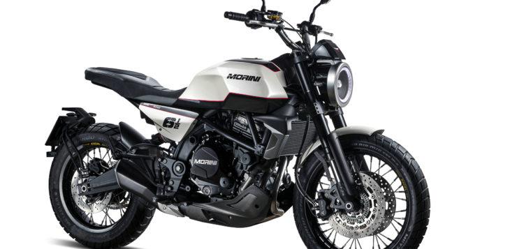 Die Moto Morini 6 1/2 gefällt als Naked Bike