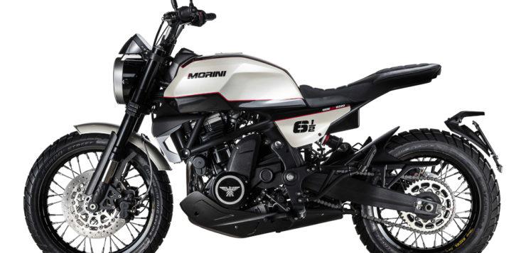Schicke Moto Morini 6 1/2 und X-Cape 650 für Einsteiger