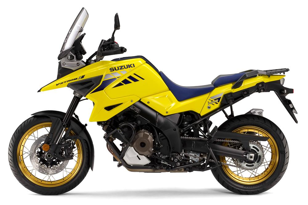 Die Suzuki V-Strom 1050 leistet ab 2020 sieben PS mehr