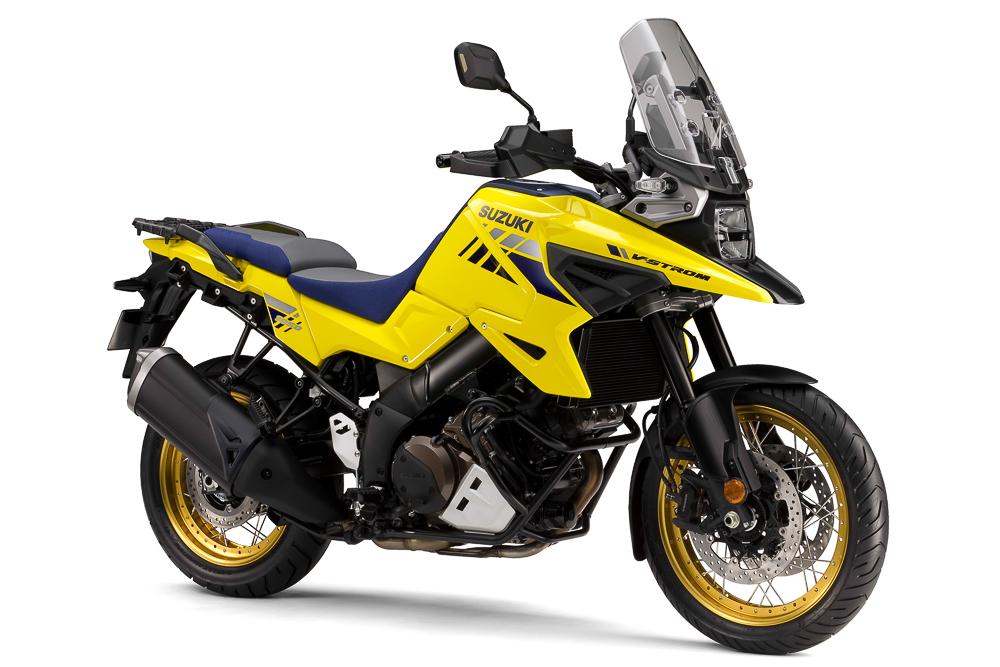 Die neue Suzuki V-Strom 1050 erinnert an die DR-Big