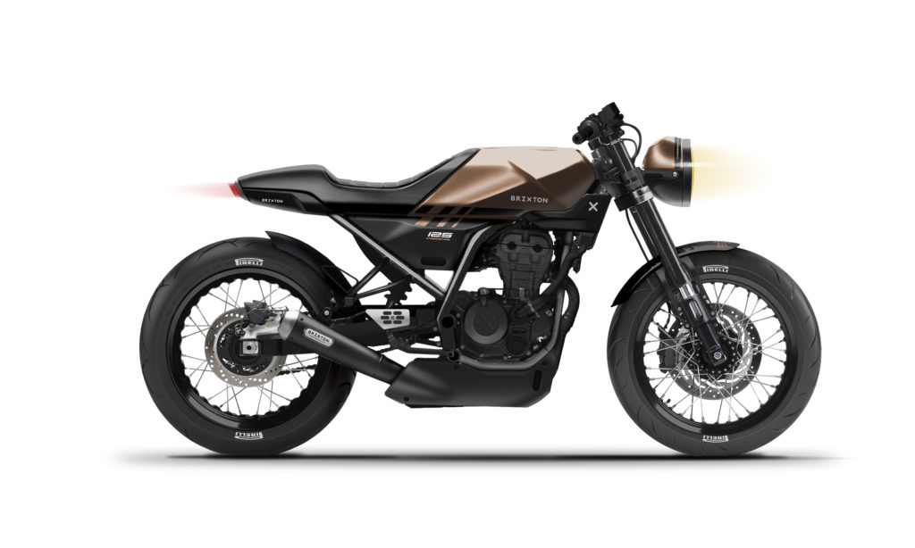 Brixton Crossfire 125 WC
