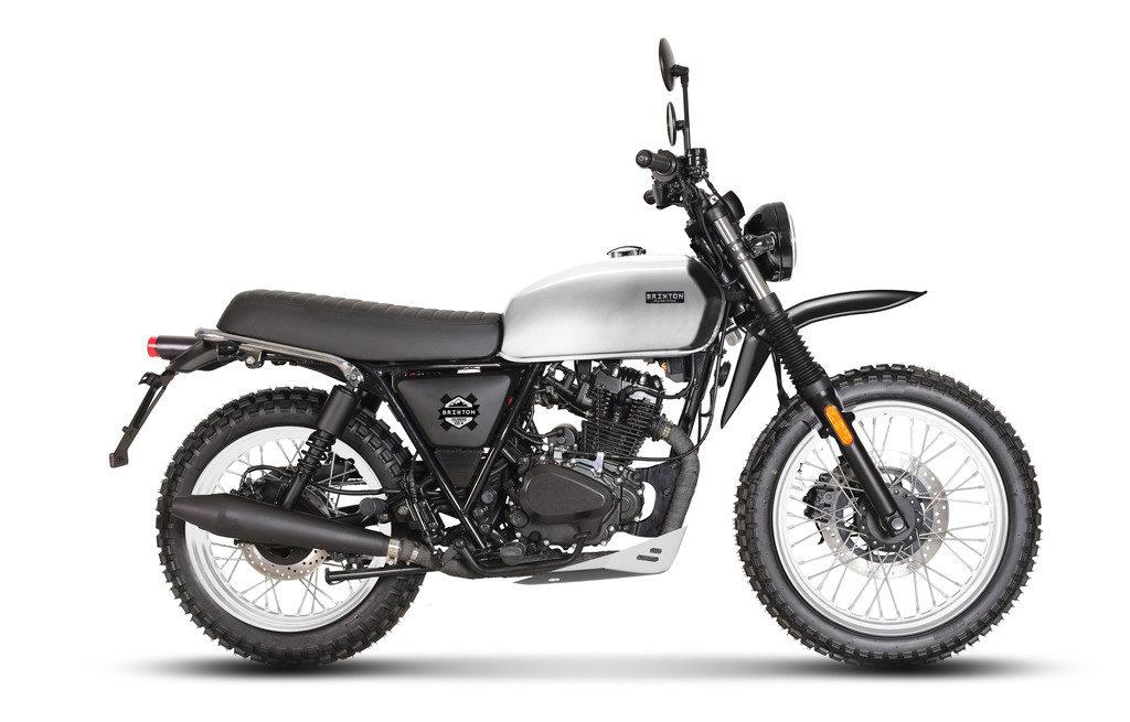 Erinnert an alte XT-Modelle - Brixton Felsberg 125 XC