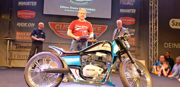 Editors Choice »CUSTOMBIKE«: Dirk Wohlgemuth (D)/Honda CMX 450 Rebel